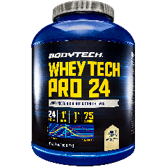 BODYTECH WHEY TECH PRO 24 VANILLA ICE CREAM (73 serv) 5 lb