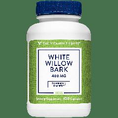 THE VITAMIN SHOPPE WHITE WILLOW BARK 400 mg (100 cap)