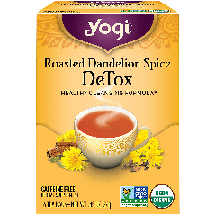 YOGI TEA YOGI ROASTED DANDELION SPICE TEA 16 EA