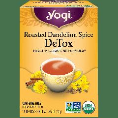 YOGI TEA YOGI ROASTED DANDELION SPICE TEA 16 EA