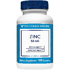 THE VITAMIN SHOPPE ZINC 50 MG (100 cap)