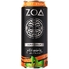 ZOA Zero Sugar Energy Drink w/ Caffeine Wild Orange