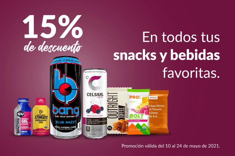 Promocion de Snacks y Bebidas en Vitamin Shoppe Panama