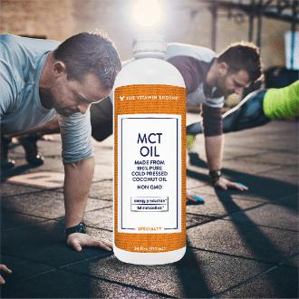 MCT Oil Trigliceridos de cadena media Vitamin Shoppe Panama