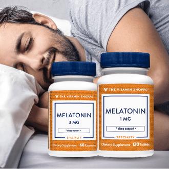 Melatonina en Vitamin Shoppe Panama para dormir