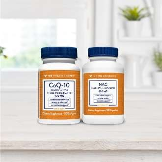 NAC CoQ-10 COenzima Q-10 Antioxidantes aminoacido