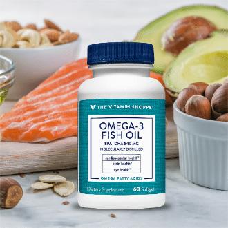 Omega-3 Vitamin Shoppe aceite de pescado