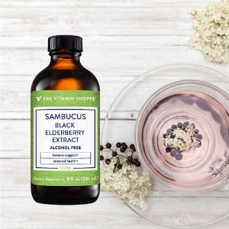 Sambucus Elderberry Sauco Resfriado y sistema inmune
