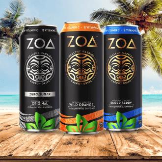 Zoa Energy Drink de la Roca en Panama